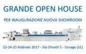OPEN HOUSE inaugurazione nuova showroom